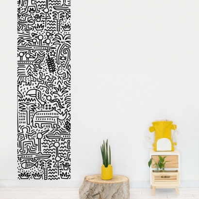 Keith Haring Wallpaper Jungle