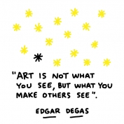 Art is not what you see