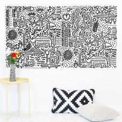 Keith Haring Jungle