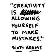 Creativity and mistakes