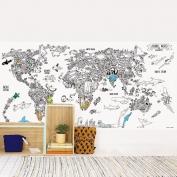 Wallpaper to color Animal World