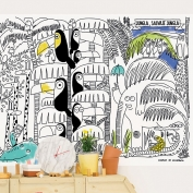 Wallpaper to color Jungle