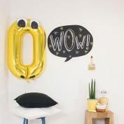 Balloon blackboard