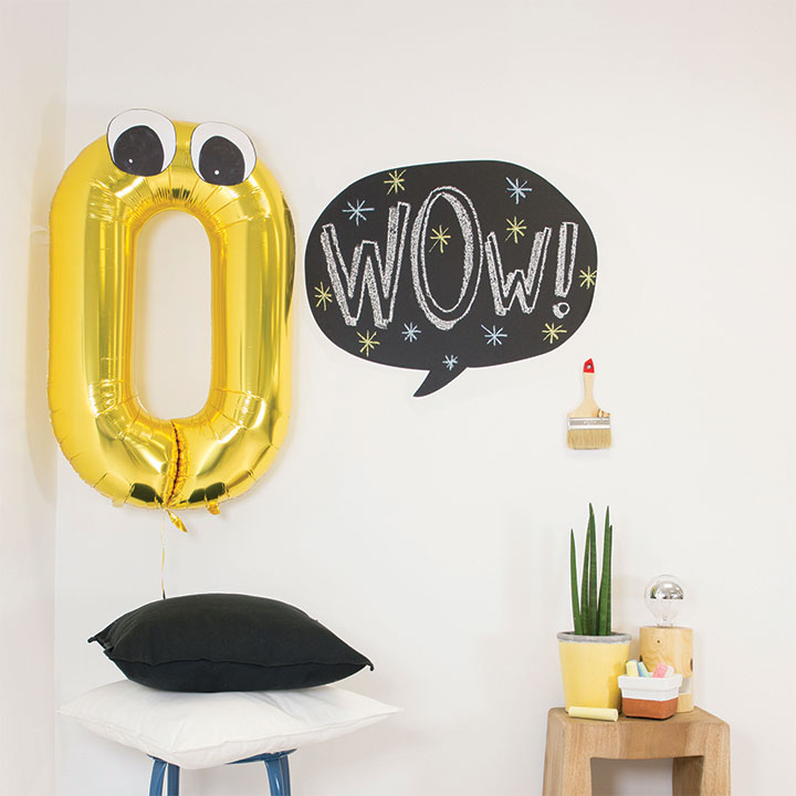 Balloon blackboard