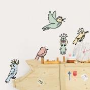 Bird Wallsticker by Eva Mouton
