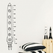 Growth chart: space rocket
