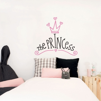 Headboard the princess