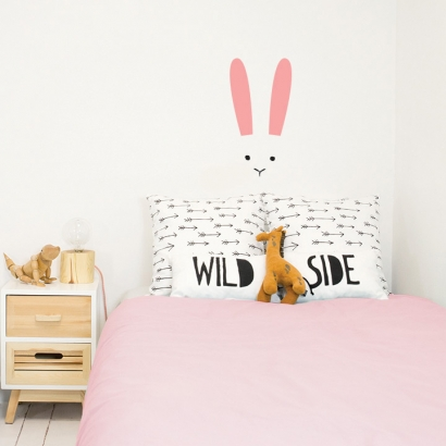 Rabbit wallsticker