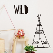 Wild Tipi Wallsticker