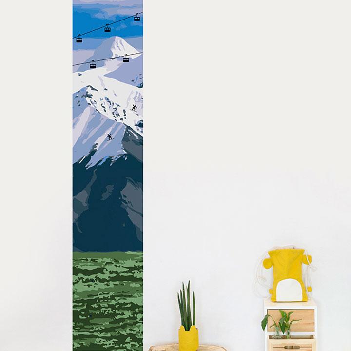 Telecabin wallpaper