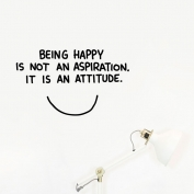 Beign happy