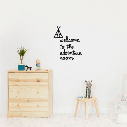Welcome to the adventure room