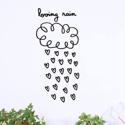 Loving rain