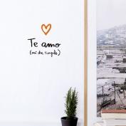Te amo, así de simple