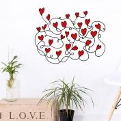 Red de corazones