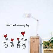 Love in flower pots