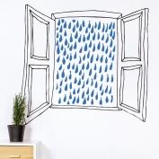 Ventana lluvia