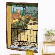 Window with a sunblind