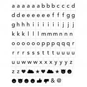 Magnet Wall Sticker: Alphabet