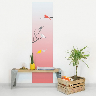 Magnet Wall Sticker: Birds