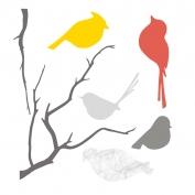 Magnet Wall Sticker: Birds
