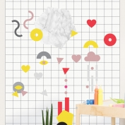 Magnet Wall Sticker: Shapes