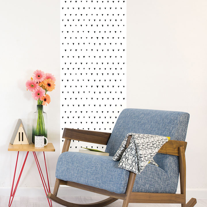 Wallpaper triangles