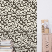 Papel de pared reposicionable Watching fireworks