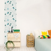 Repositionable Wallpaper Bears