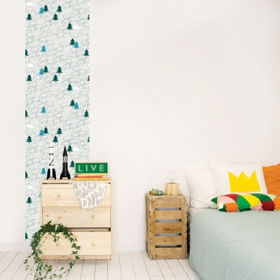 Papel de pared reposicionable Bears