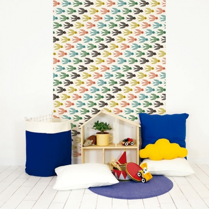 Papel de pared reposicionable Flying South