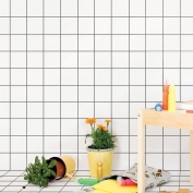Papel de pared reposicionable Grid