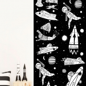 Papel de pared reposicionable Universe