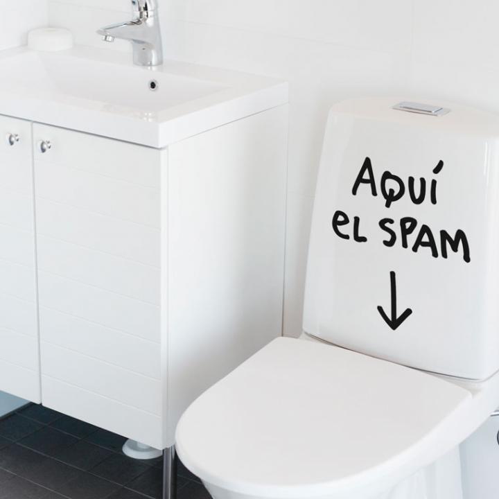 Aquí el spam