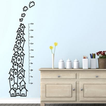 Growth chart: houses